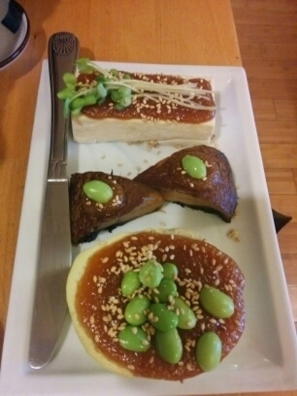 "Photo of Cha-Ya  by <a href=""/members/profile/alexandra_vegan"">alexandra_vegan</a> <br/>dengaku (broiled eggplant and tofu) - a la carte menu <br/> August 4, 2016  - <a href='/contact/abuse/image/1481/165220'>Report</a>"