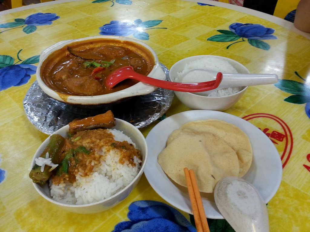 """Photo of Lin Lin Vegetarian Delight  by <a href=""""/members/profile/shaaronyu"""">shaaronyu</a> <br/>For your info, $11 with two rice. Warning: Rather spicy! <br/> September 7, 2014  - <a href='/contact/abuse/image/14843/79279'>Report</a>"""