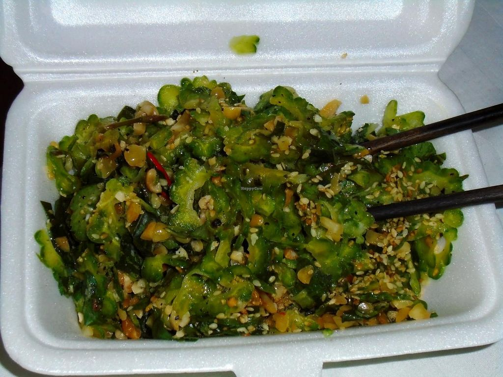 "Photo of Bo De  by <a href=""/members/profile/cookytrix"">cookytrix</a> <br/>bitter melon(karela) salad done perfectly. can barely taste the bitterness. great cook at this place <br/> December 10, 2014  - <a href='/contact/abuse/image/14884/87678'>Report</a>"