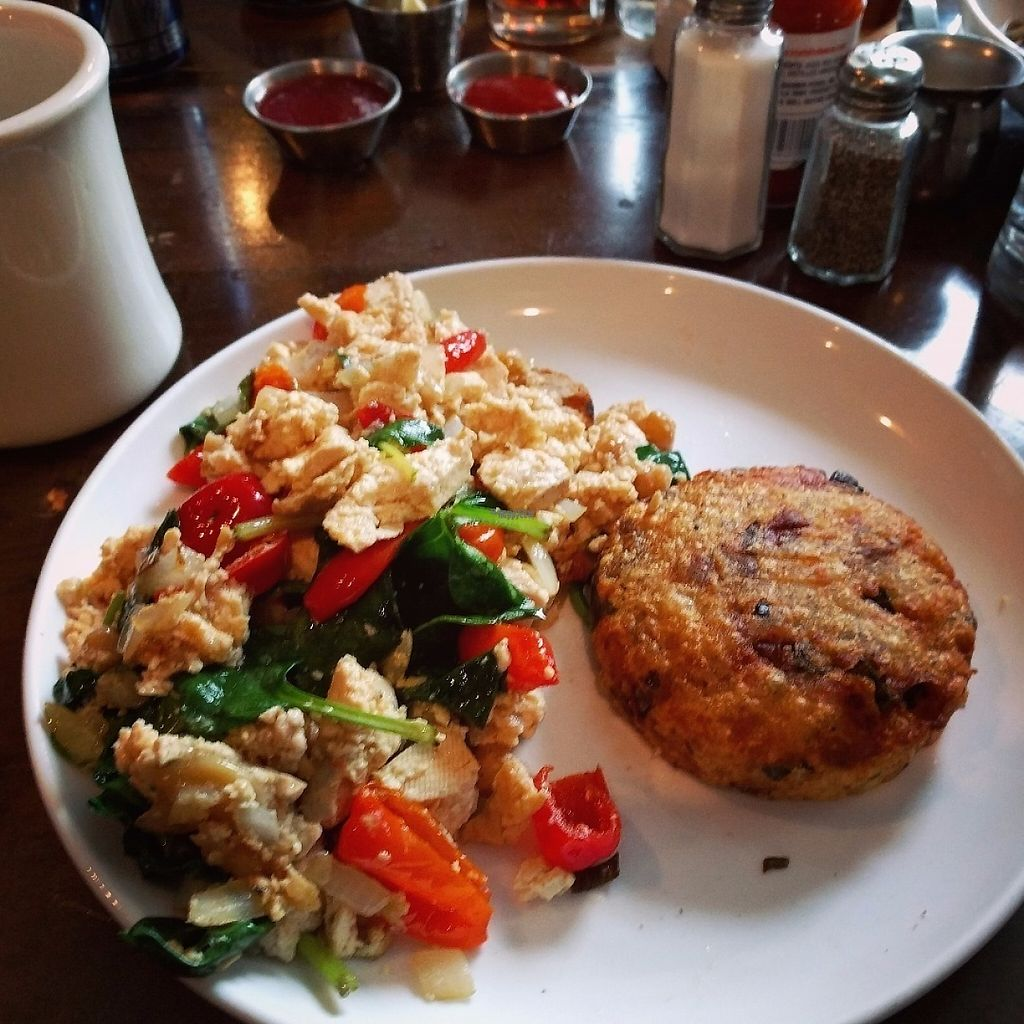 """Photo of Bite Cafe  by <a href=""""/members/profile/makemenervous"""">makemenervous</a> <br/>Tofu Scramble <br/> March 18, 2017  - <a href='/contact/abuse/image/14891/238043'>Report</a>"""
