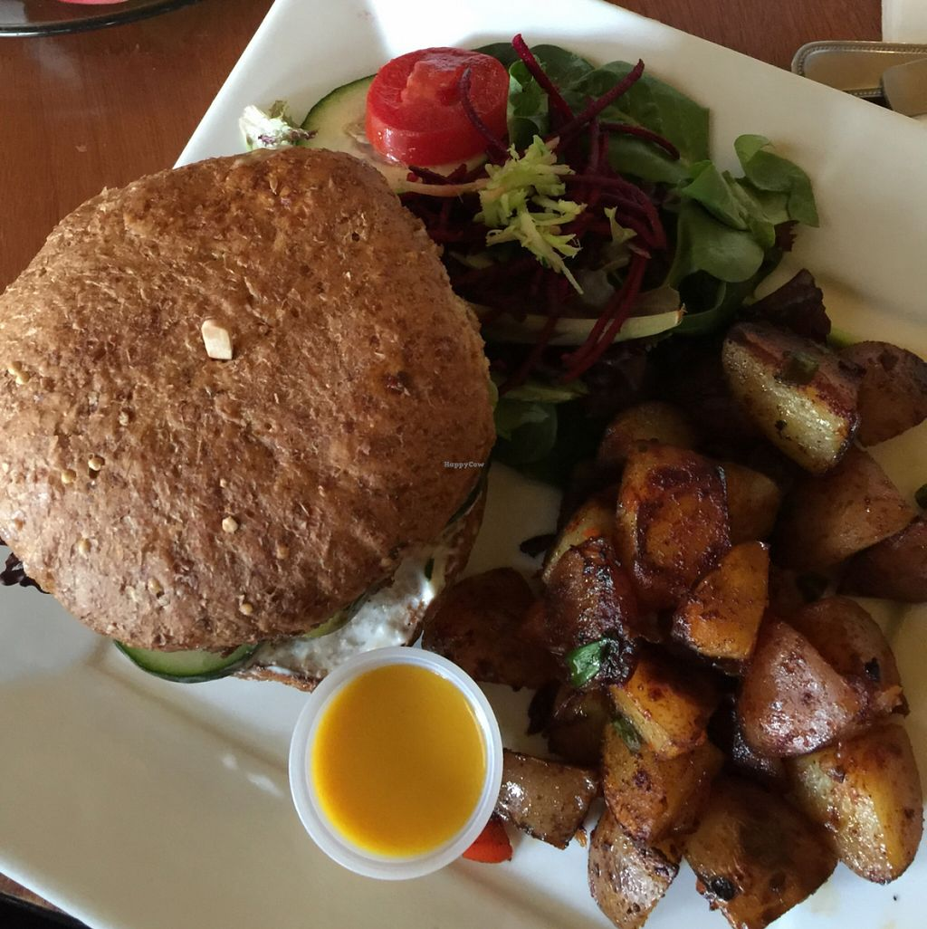 """Photo of Stuff I Eat  by <a href=""""/members/profile/Summer%20vegan"""">Summer vegan</a> <br/>Nut Burger <br/> May 5, 2016  - <a href='/contact/abuse/image/14920/147570'>Report</a>"""