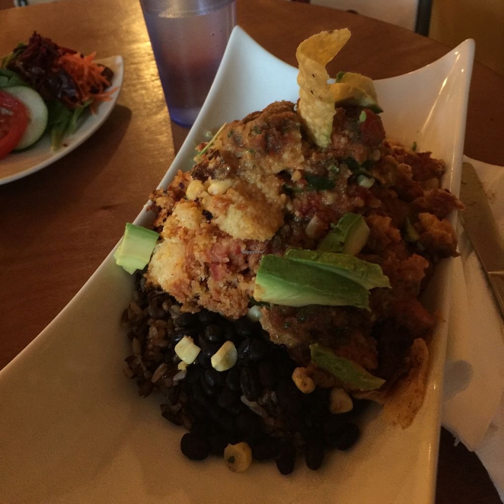 """Photo of Stuff I Eat  by <a href=""""/members/profile/Summer%20vegan"""">Summer vegan</a> <br/>enchilada pie <br/> May 5, 2016  - <a href='/contact/abuse/image/14920/147572'>Report</a>"""