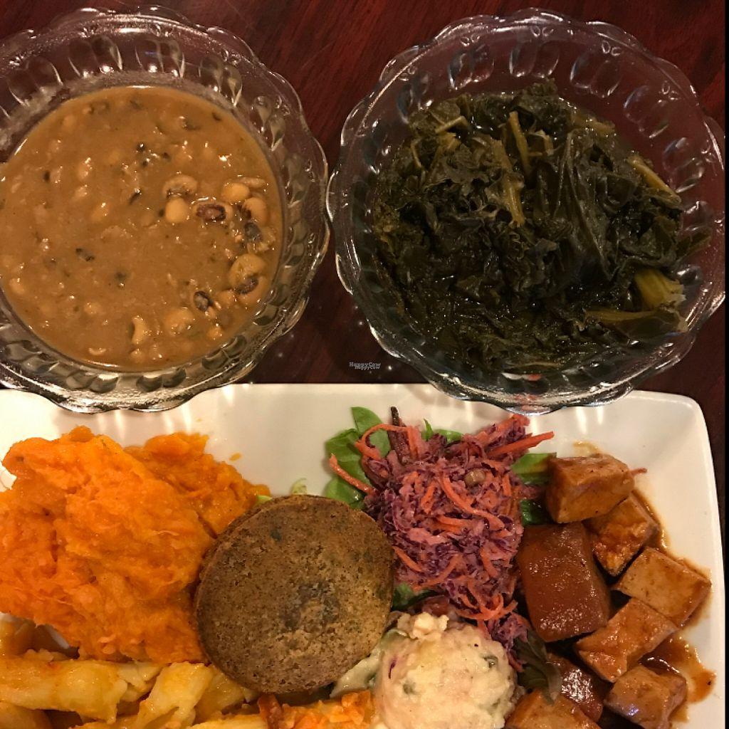 """Photo of Stuff I Eat  by <a href=""""/members/profile/EcoJoe"""">EcoJoe</a> <br/>Soul Food Platter  <br/> December 24, 2016  - <a href='/contact/abuse/image/14920/204555'>Report</a>"""