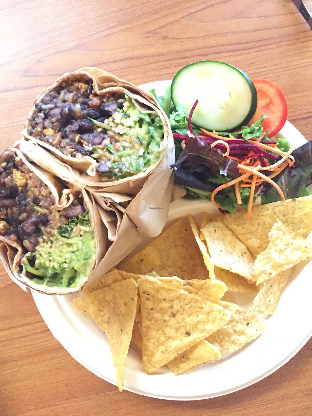 """Photo of Stuff I Eat  by <a href=""""/members/profile/Deliciaanne"""">Deliciaanne</a> <br/>Lunch Burrito <br/> October 10, 2017  - <a href='/contact/abuse/image/14920/314073'>Report</a>"""