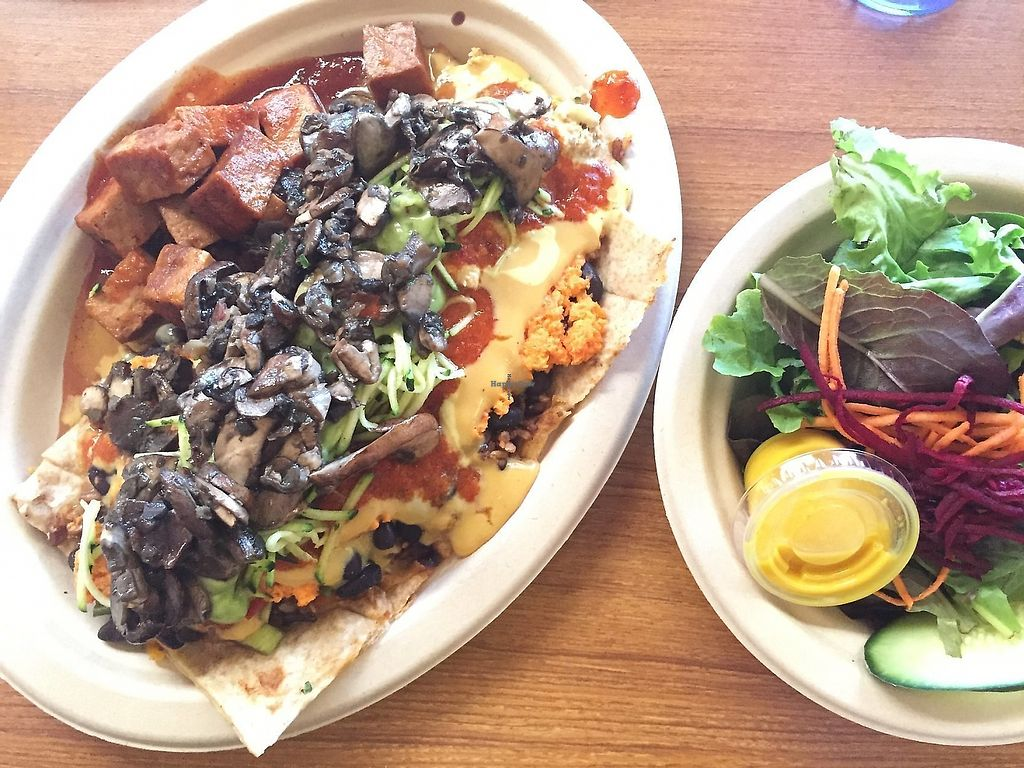 """Photo of Stuff I Eat  by <a href=""""/members/profile/Deliciaanne"""">Deliciaanne</a> <br/>Stuff I Eat Kilimanjaro Quesadilla <br/> October 10, 2017  - <a href='/contact/abuse/image/14920/387839'>Report</a>"""