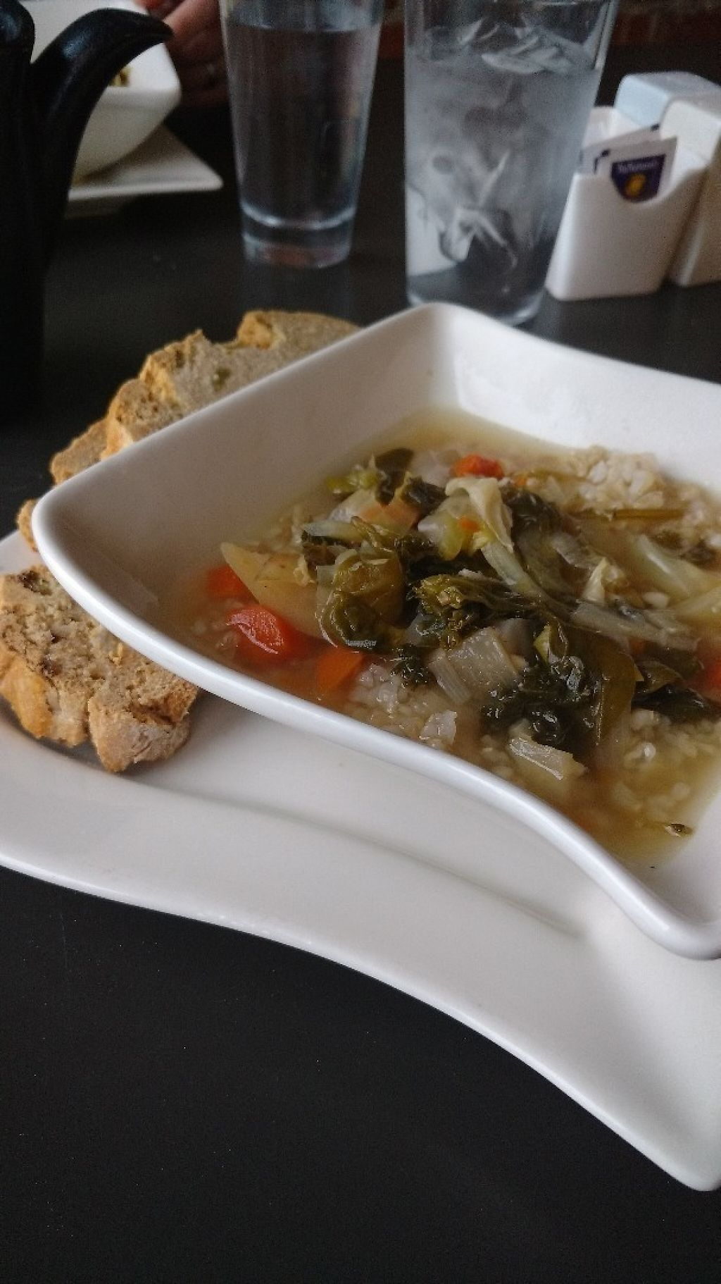 """Photo of The Hummingbird Cafe  by <a href=""""/members/profile/chrisvobe"""">chrisvobe</a> <br/>Side Soup with Irish Soda Bread (Dinner) <br/> March 19, 2017  - <a href='/contact/abuse/image/14944/238181'>Report</a>"""