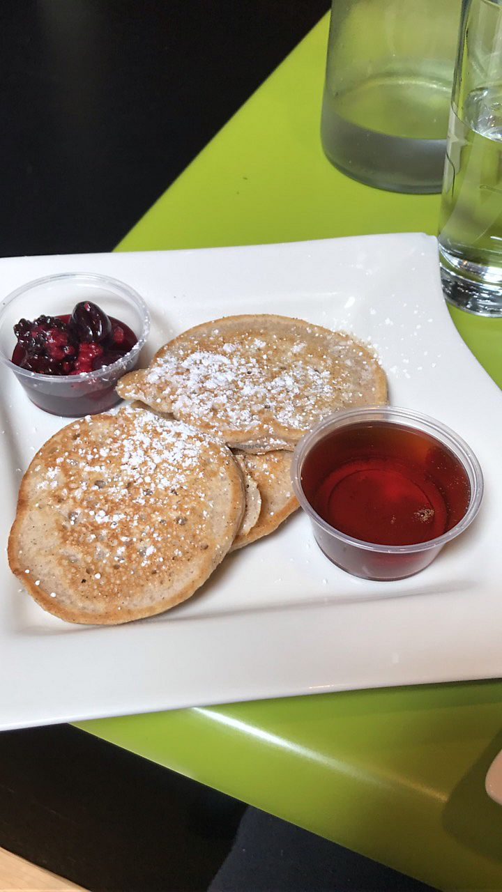 """Photo of The Hummingbird Cafe  by <a href=""""/members/profile/LolaKage"""">LolaKage</a> <br/>Vegan Pancake Side <br/> June 27, 2017  - <a href='/contact/abuse/image/14944/274155'>Report</a>"""