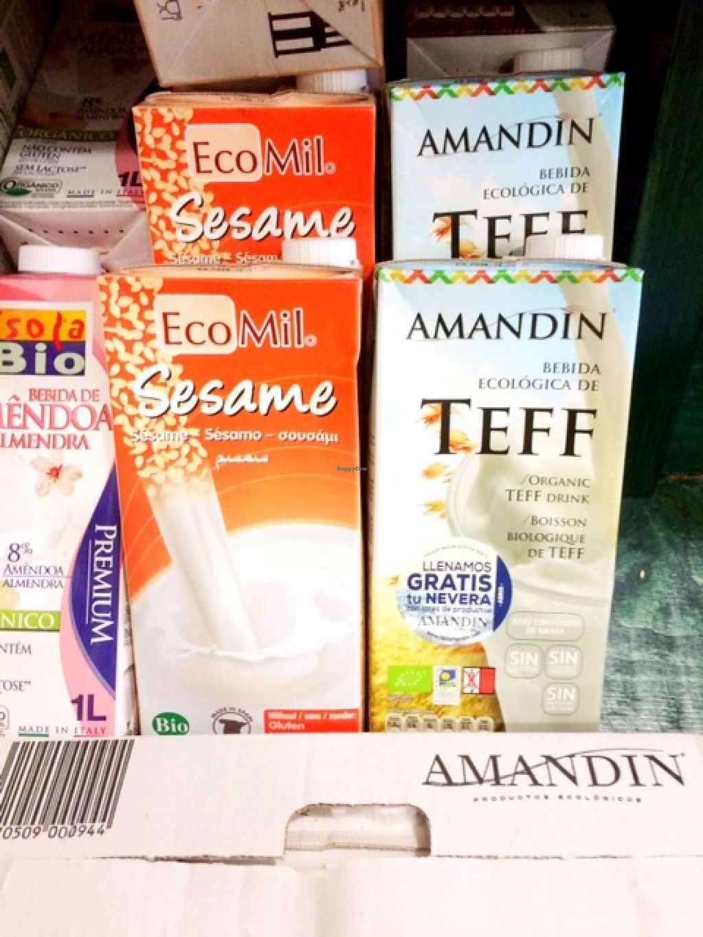 "Photo of Natural  by <a href=""/members/profile/photoagency"">photoagency</a> <br/>I had never seen Teff Milk before.. great assortment of 'milks' <br/> May 17, 2015  - <a href='/contact/abuse/image/14954/102536'>Report</a>"
