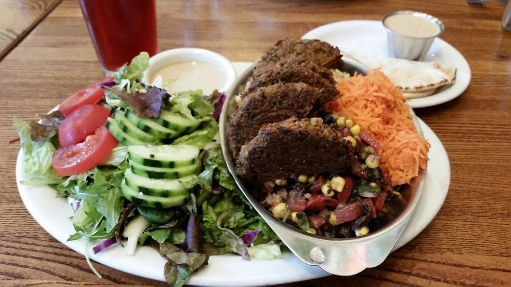 "Photo of Dharma's  by <a href=""/members/profile/Conniemm"">Conniemm</a> <br/>falafel platter special <br/> March 27, 2017  - <a href='/contact/abuse/image/1495/241830'>Report</a>"