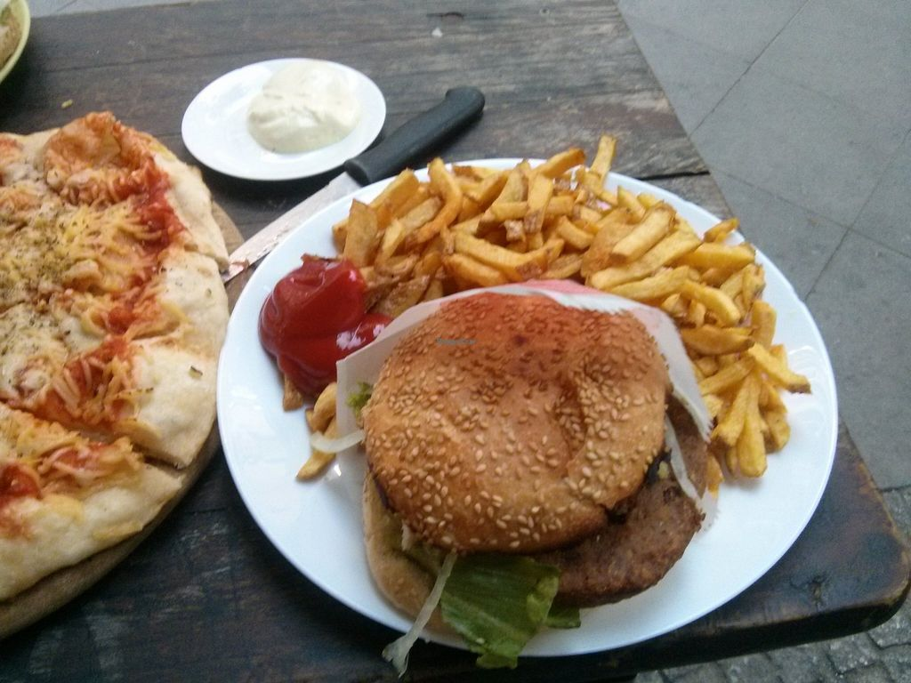 """Photo of Yoyo Foodworld  by <a href=""""/members/profile/hadasalex"""">hadasalex</a> <br/>great hamburger <br/> October 17, 2015  - <a href='/contact/abuse/image/14960/121635'>Report</a>"""