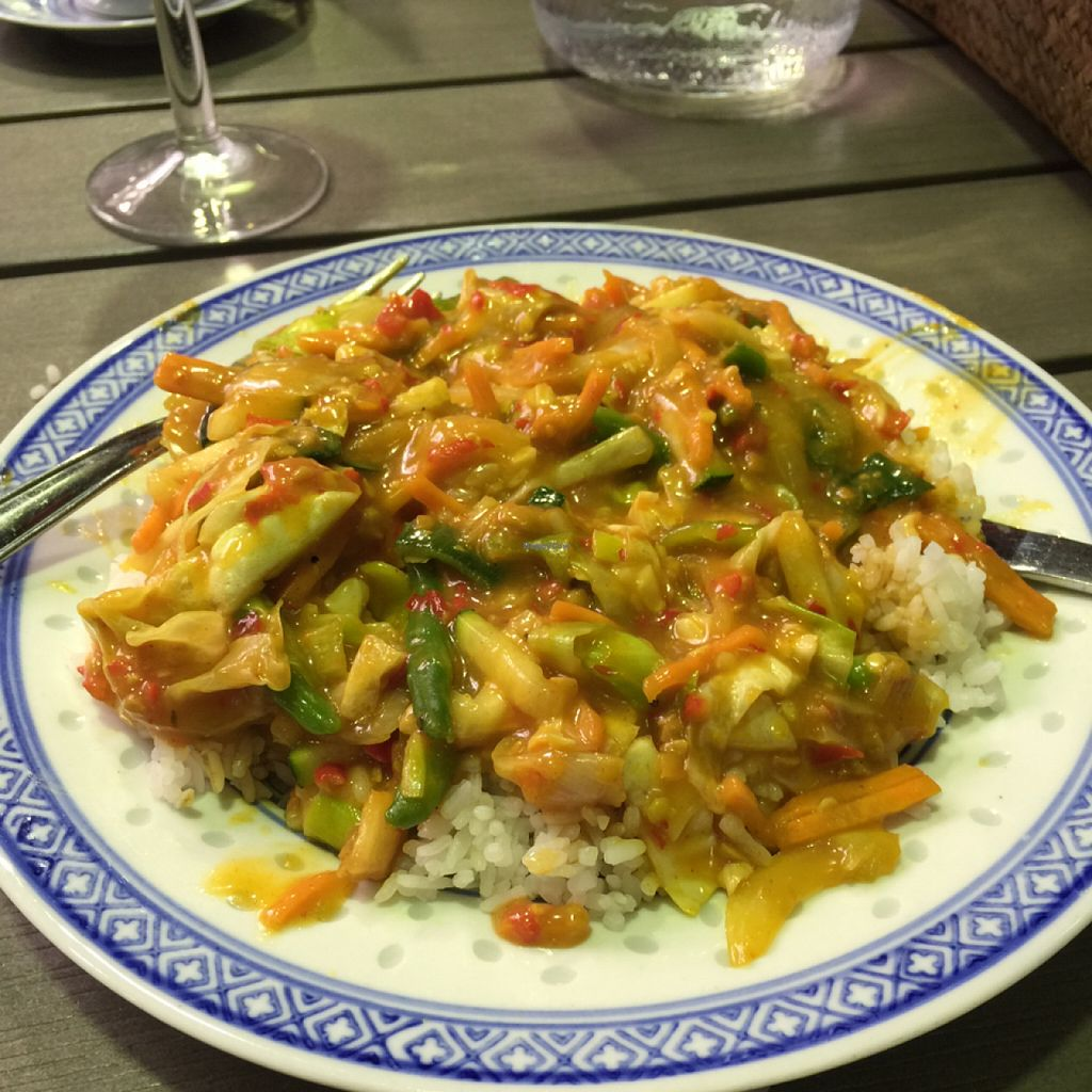 """Photo of Deli China  by <a href=""""/members/profile/AliMatta"""">AliMatta</a> <br/>Satay-vegetables <br/> August 17, 2015  - <a href='/contact/abuse/image/14990/113998'>Report</a>"""