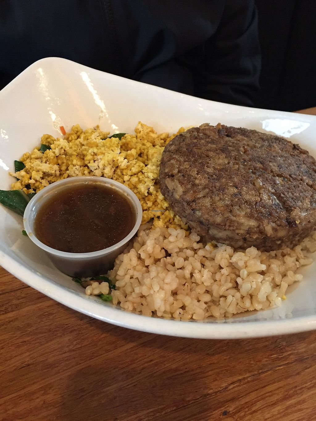 "Photo of Palm Greens Cafe  by <a href=""/members/profile/heathenvegan"">heathenvegan</a> <br/>Vegan Loco Moco <br/> March 10, 2018  - <a href='/contact/abuse/image/15008/368985'>Report</a>"