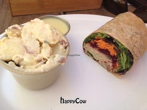 "Photo of Palm Greens Cafe  by <a href=""/members/profile/JenniferKoukla"">JenniferKoukla</a> <br/>vegan Venus Wrap. and vegan potatoes . with miso ginger sauce. vet good! <br/> May 24, 2013  - <a href='/contact/abuse/image/15008/48655'>Report</a>"