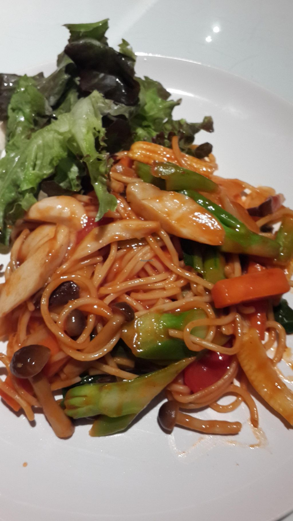 "Photo of The Little Kitchen  by <a href=""/members/profile/marioxiao"">marioxiao</a> <br/>stir fry vegetarian spaghetti <br/> August 7, 2015  - <a href='/contact/abuse/image/15020/112616'>Report</a>"