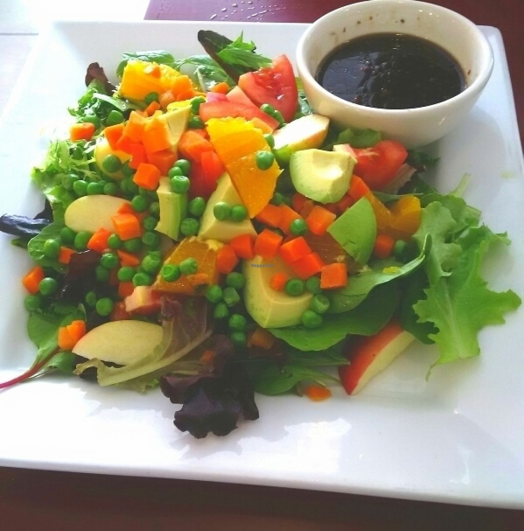 """Photo of Green Earth Vegetarian Cuisine  by <a href=""""/members/profile/stafanya"""">stafanya</a> <br/>Harvest Salad <br/> May 29, 2017  - <a href='/contact/abuse/image/15063/263912'>Report</a>"""