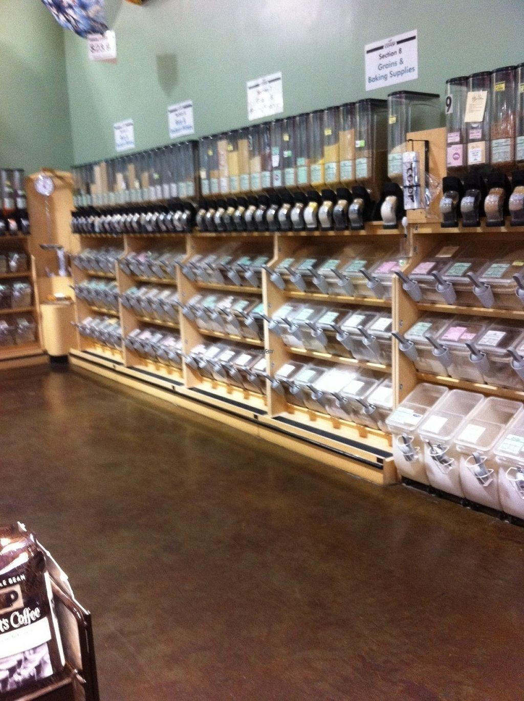"""Photo of North Coast Co-op  by <a href=""""/members/profile/BananaAddict"""">BananaAddict</a> <br/>One section of bulk <br/> August 15, 2016  - <a href='/contact/abuse/image/1511/169149'>Report</a>"""