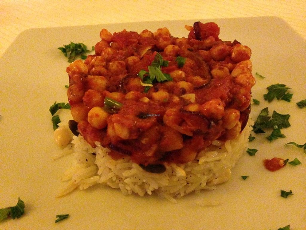 """Photo of CLOSED: Casa Satya  by <a href=""""/members/profile/DynaMo"""">DynaMo</a> <br/>Chana masala, with peanuts and pumpkin seeds <br/> November 11, 2015  - <a href='/contact/abuse/image/15198/124610'>Report</a>"""