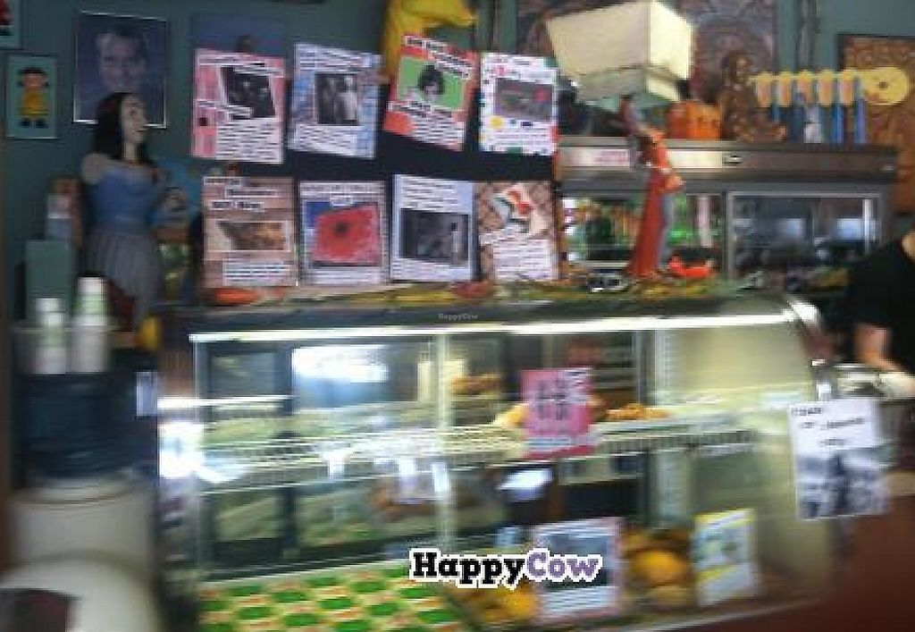 """Photo of Grateful Bread - Freakbeat Vegetarian  by <a href=""""/members/profile/PennyU"""">PennyU</a> <br/>Menu board changes from time to time <br/> October 30, 2013  - <a href='/contact/abuse/image/15235/207479'>Report</a>"""