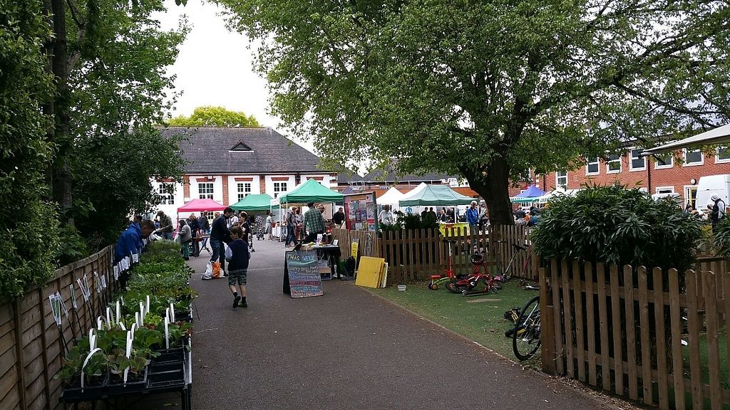 "Photo of Farmers Market - Wimbledon Park  by <a href=""/members/profile/jollypig"">jollypig</a> <br/>The market <br/> April 29, 2017  - <a href='/contact/abuse/image/15252/253717'>Report</a>"