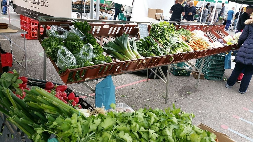 "Photo of Farmers Market - Wimbledon Park  by <a href=""/members/profile/jollypig"">jollypig</a> <br/>Veggies <br/> April 29, 2017  - <a href='/contact/abuse/image/15252/253718'>Report</a>"