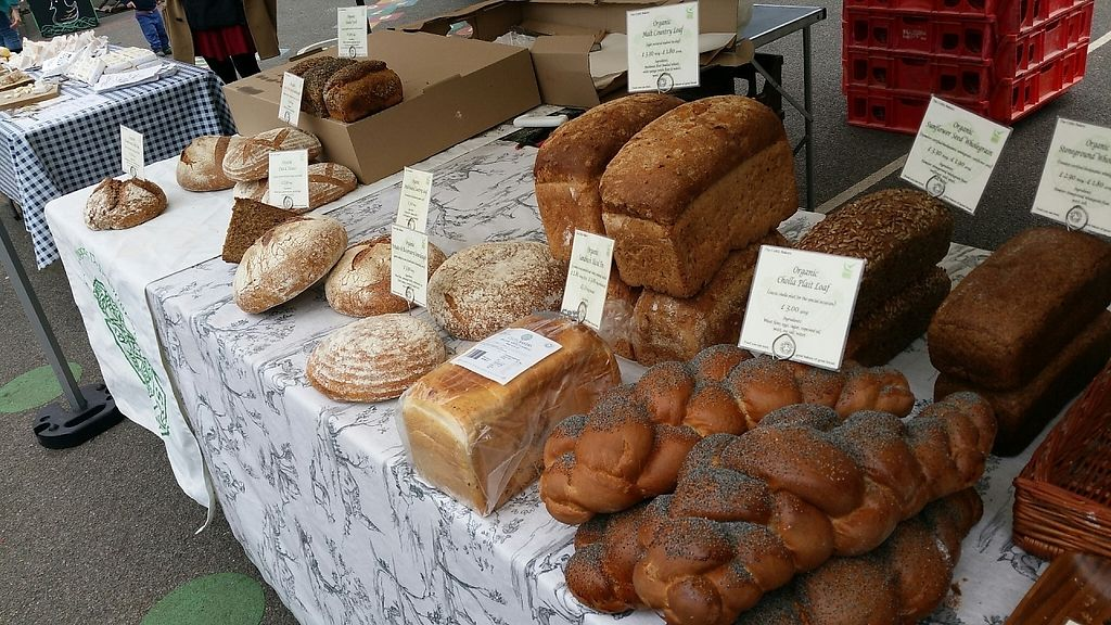 "Photo of Farmers Market - Wimbledon Park  by <a href=""/members/profile/jollypig"">jollypig</a> <br/>And this looks like more bread <br/> April 29, 2017  - <a href='/contact/abuse/image/15252/253720'>Report</a>"