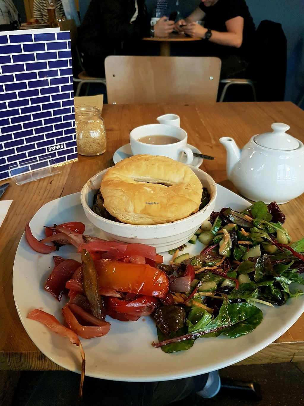 """Photo of Stereo  by <a href=""""/members/profile/MiriamAgat"""">MiriamAgat</a> <br/>'pie' with roasted vegetables <br/> April 12, 2018  - <a href='/contact/abuse/image/15285/384581'>Report</a>"""