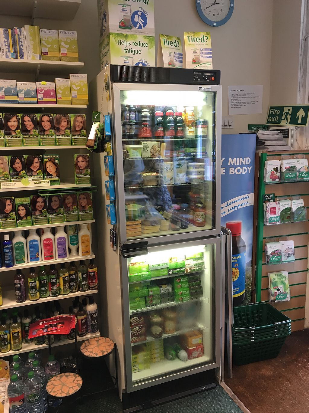 """Photo of For Goodness Sake Health Store  by <a href=""""/members/profile/hack_man"""">hack_man</a> <br/>The fridge & freezer  <br/> May 25, 2018  - <a href='/contact/abuse/image/15286/404868'>Report</a>"""