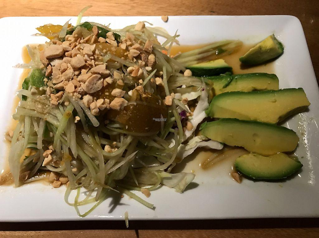 "Photo of CLOSED: Lotus Cafe  by <a href=""/members/profile/Sarah%20P"">Sarah P</a> <br/>green papaya salad made vegan <br/> December 27, 2016  - <a href='/contact/abuse/image/15352/205401'>Report</a>"