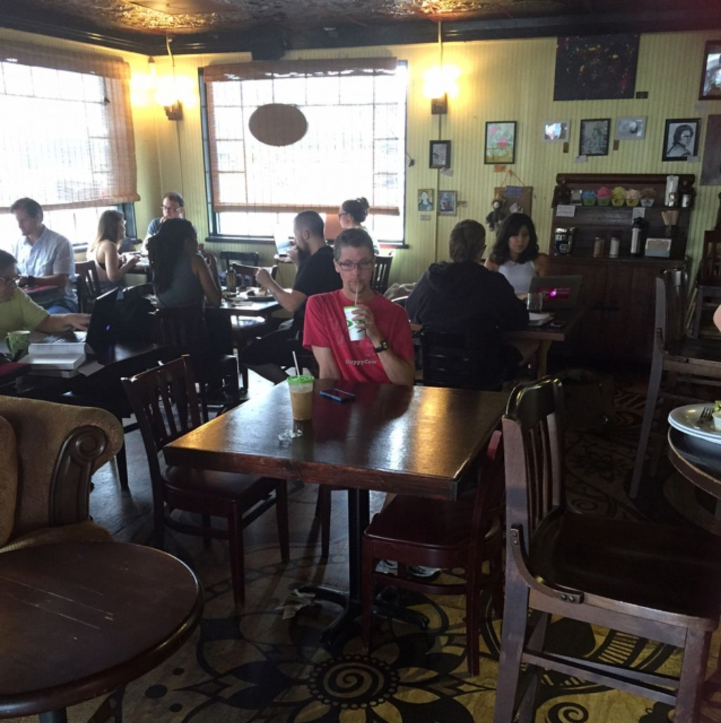 """Photo of Drunken Monkey Coffee Bar  by <a href=""""/members/profile/happycowgirl"""">happycowgirl</a> <br/>indoor seating <br/> September 6, 2015  - <a href='/contact/abuse/image/15477/116595'>Report</a>"""