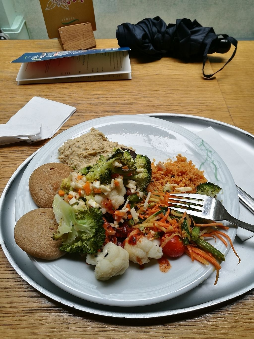"Photo of Tibits  by <a href=""/members/profile/Hannyyy"">Hannyyy</a> <br/>Vegan Plate <br/> July 30, 2017  - <a href='/contact/abuse/image/15552/286573'>Report</a>"