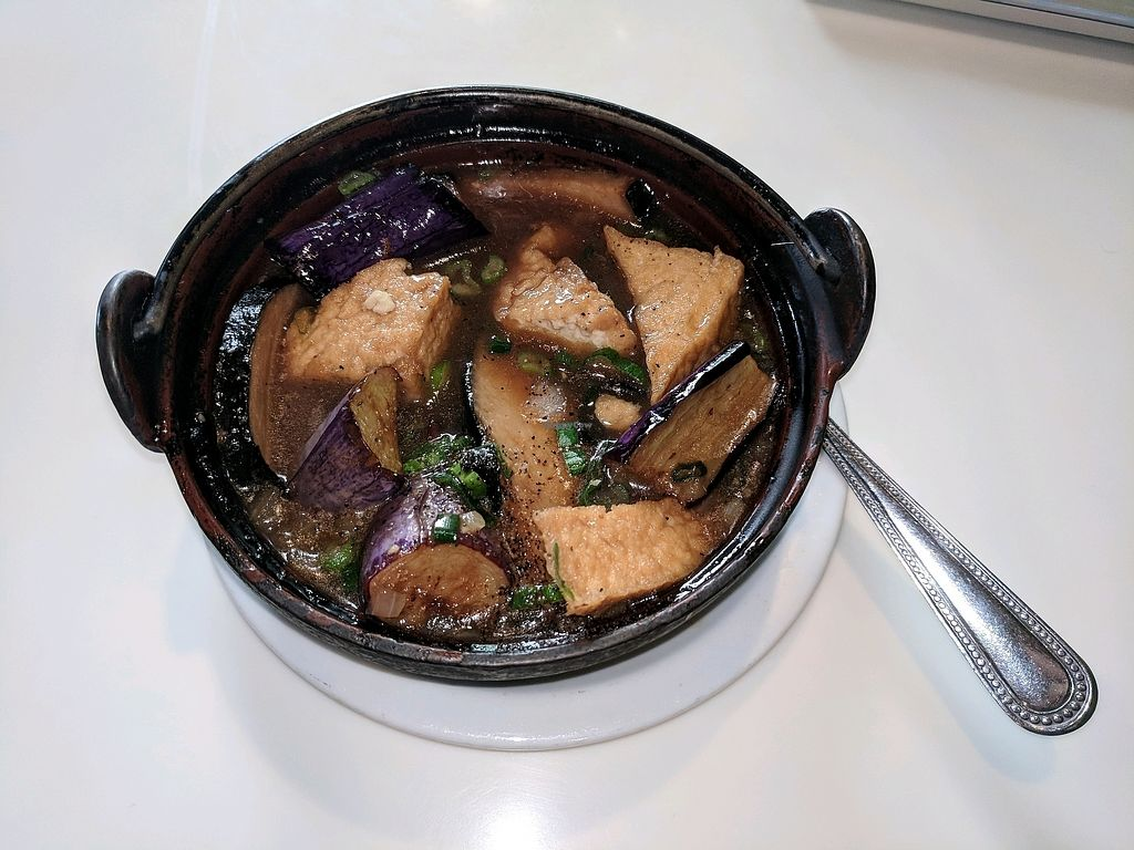 """Photo of Golden Era Vegan Restaurant  by <a href=""""/members/profile/StevenMcCann"""">StevenMcCann</a> <br/>Mama clay pot. Very tasty and the """"fish"""" tastes very fishy!  <br/> November 5, 2017  - <a href='/contact/abuse/image/1557/322299'>Report</a>"""