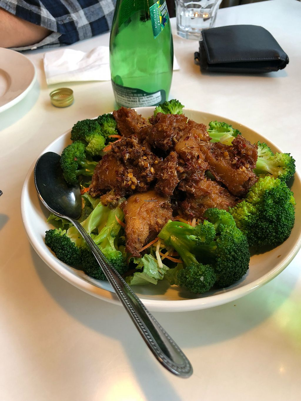 """Photo of Golden Era Vegan Restaurant  by <a href=""""/members/profile/KaitlynnGill"""">KaitlynnGill</a> <br/>Lemongrass combo <br/> December 31, 2017  - <a href='/contact/abuse/image/1557/341401'>Report</a>"""