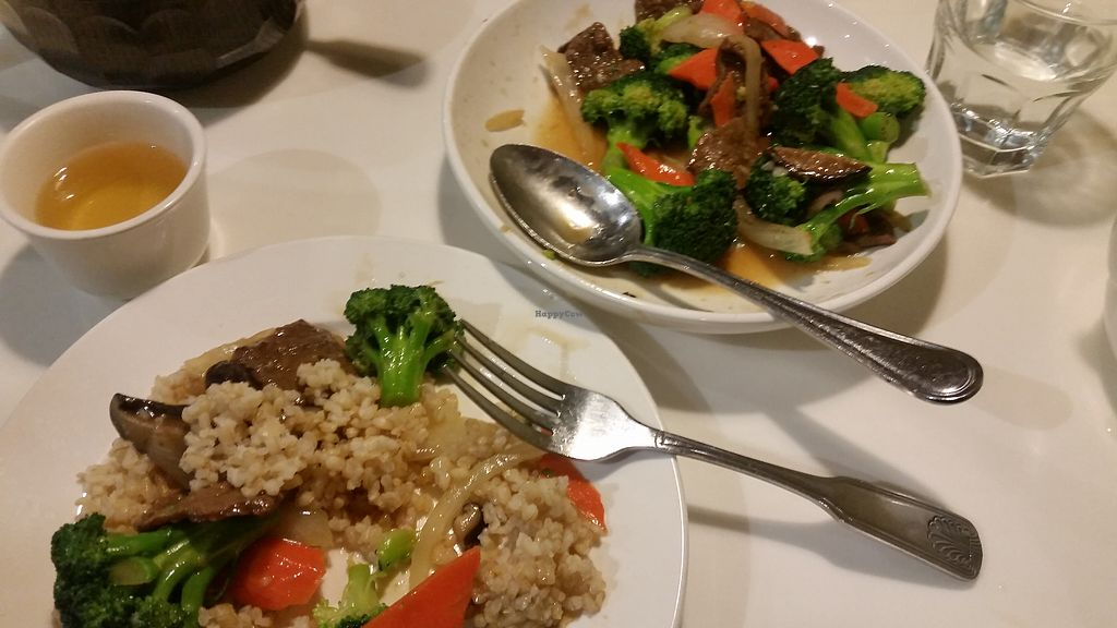 """Photo of Golden Era Vegan Restaurant  by <a href=""""/members/profile/plantamy"""">plantamy</a> <br/>Broccoli dish <br/> January 8, 2018  - <a href='/contact/abuse/image/1557/344459'>Report</a>"""