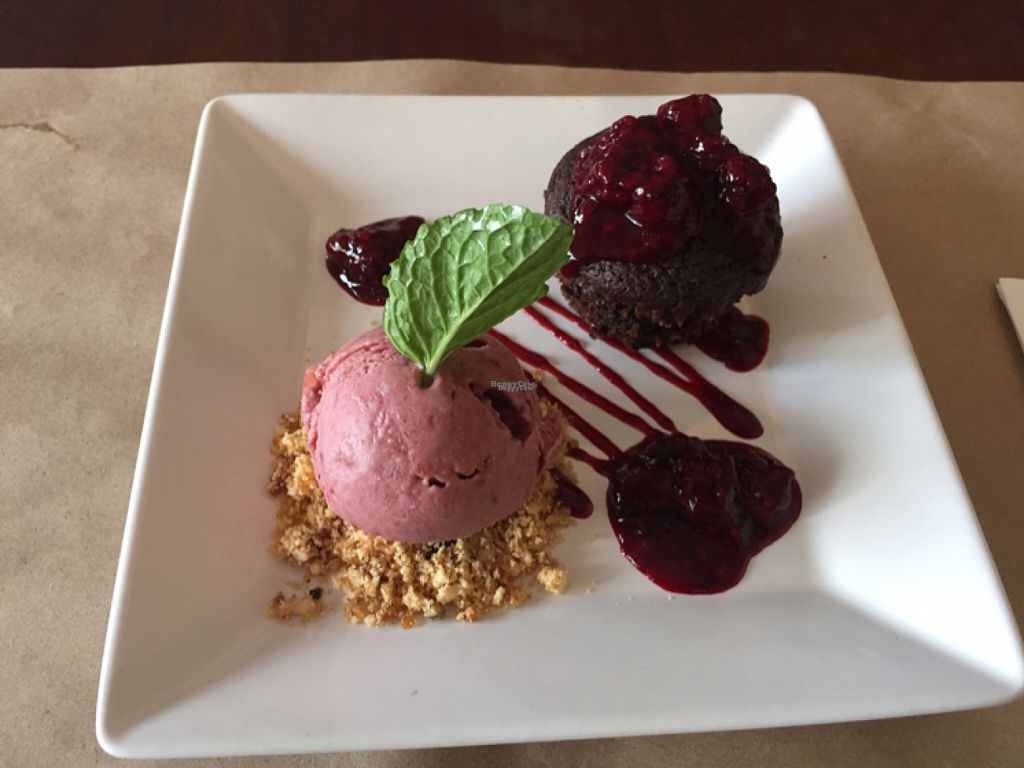 """Photo of Banana Verde  by <a href=""""/members/profile/Paolla"""">Paolla</a> <br/>Chocolate cake with red fruits ice cream - deliiiicious <br/> August 7, 2016  - <a href='/contact/abuse/image/15583/166693'>Report</a>"""
