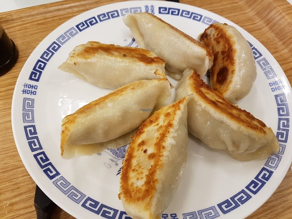 "Photo of Loving Hut  by <a href=""/members/profile/Rosa%20veg"">Rosa veg</a> <br/>Gyoza <br/> April 12, 2017  - <a href='/contact/abuse/image/15591/247225'>Report</a>"