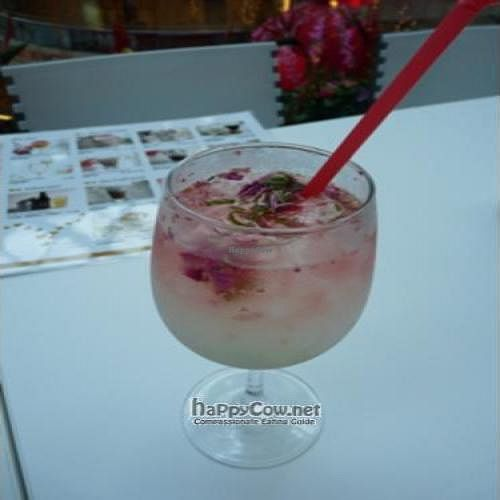 """Photo of CLOSED: Loving Hut - Suntec City Mall  by <a href=""""/members/profile/pegasus2012"""">pegasus2012</a> <br/>Rose Lemon Juice <br/> January 8, 2009  - <a href='/contact/abuse/image/15604/1370'>Report</a>"""
