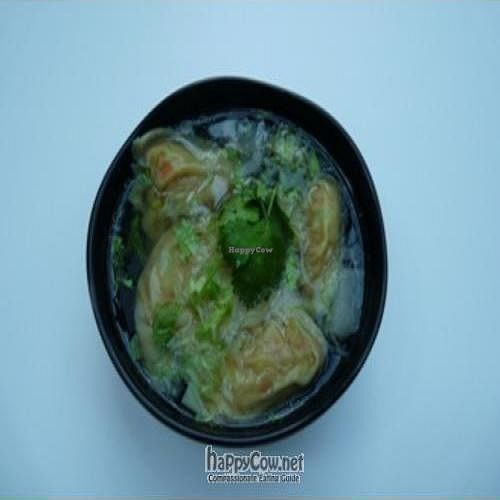 """Photo of CLOSED: Loving Hut - Suntec City Mall  by <a href=""""/members/profile/pegasus2012"""">pegasus2012</a> <br/>Smiling Dumpling (soup version) <br/> January 8, 2009  - <a href='/contact/abuse/image/15604/1371'>Report</a>"""