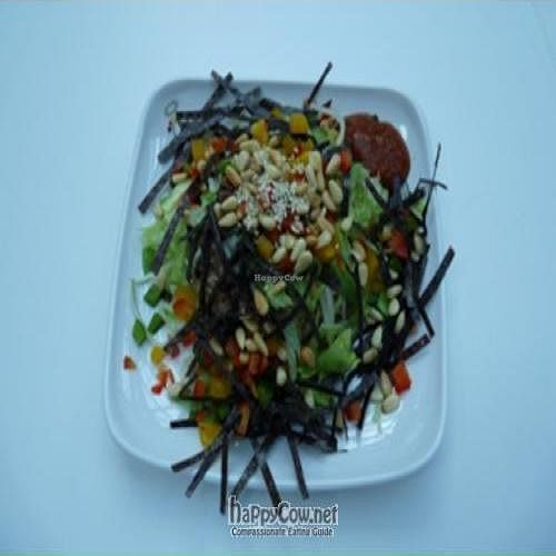 """Photo of CLOSED: Loving Hut - Suntec City Mall  by <a href=""""/members/profile/pegasus2012"""">pegasus2012</a> <br/>Jolly rice - organic brown rice, with chopped capsicum, shredded lettuce, pine nuts, seaweed <br/> January 8, 2009  - <a href='/contact/abuse/image/15604/1372'>Report</a>"""