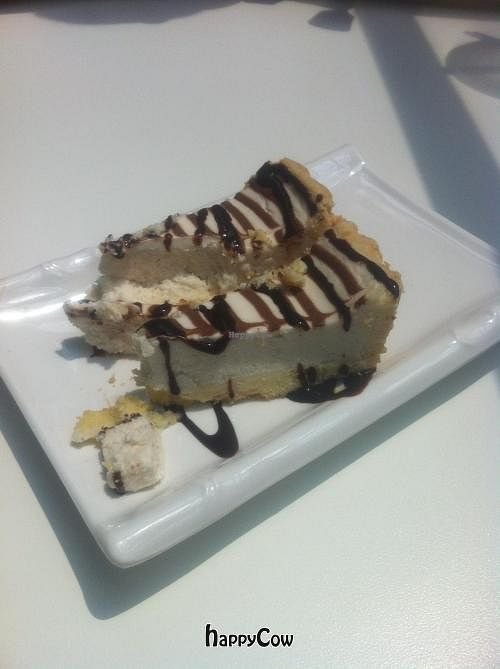 """Photo of CLOSED: Loving Hut - Suntec City Mall  by <a href=""""/members/profile/Nikki1801"""">Nikki1801</a> <br/>Vegan cheesecake <br/> January 16, 2013  - <a href='/contact/abuse/image/15604/43011'>Report</a>"""