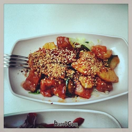 """Photo of CLOSED: Loving Hut - Suntec City Mall  by <a href=""""/members/profile/a112"""">a112</a> <br/>vegetables with soya nuggets <br/> April 7, 2013  - <a href='/contact/abuse/image/15604/46642'>Report</a>"""
