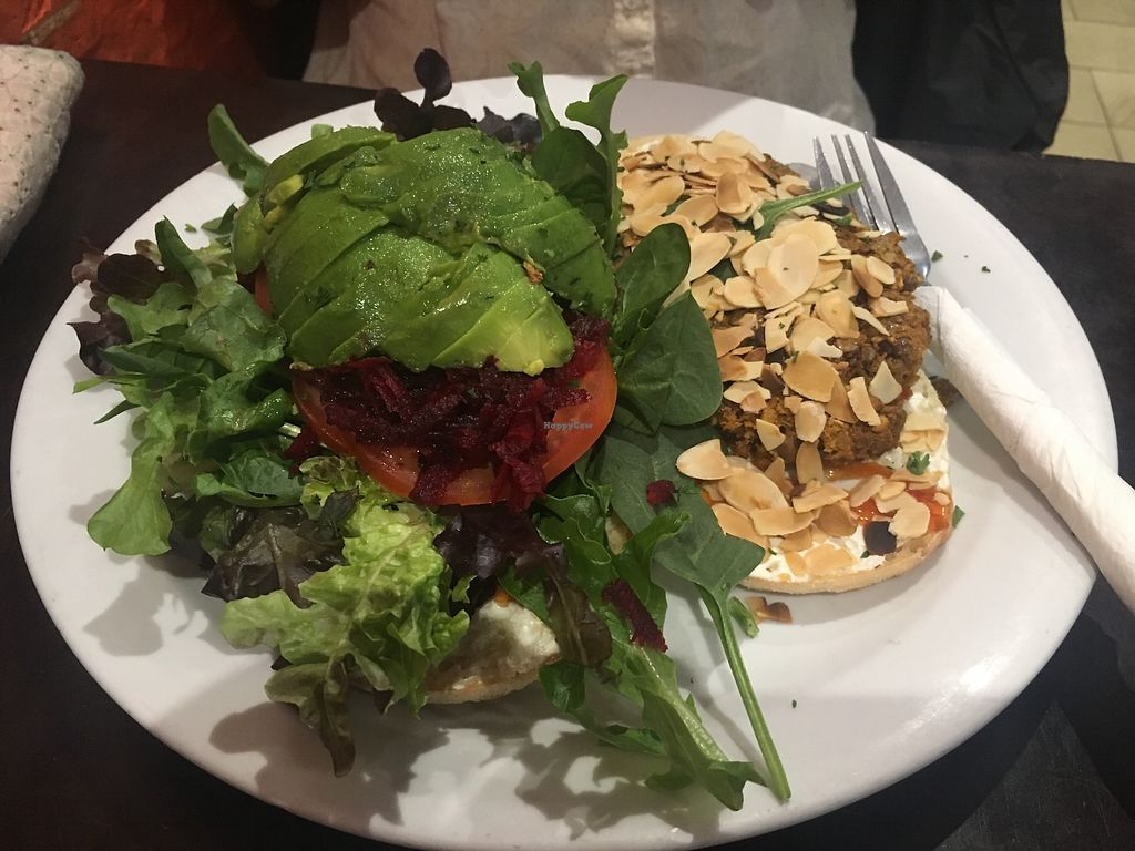 """Photo of Lilipad Cafe  by <a href=""""/members/profile/Unski1290"""">Unski1290</a> <br/>Veggie Burger <br/> March 9, 2018  - <a href='/contact/abuse/image/15609/368324'>Report</a>"""