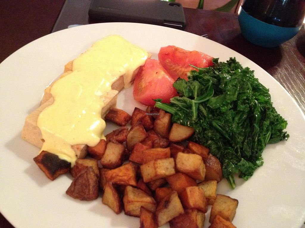 "Photo of Mi Lah Vegetarian  by <a href=""/members/profile/voivoed"">voivoed</a> <br/>Tofu Benedict, gluten-free version <br/> May 10, 2015  - <a href='/contact/abuse/image/15644/101813'>Report</a>"