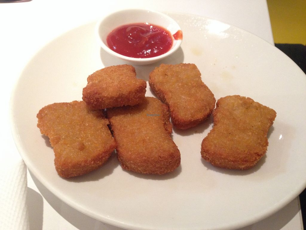 """Photo of Loving Hut  by <a href=""""/members/profile/NirvanaRoseWilliams"""">NirvanaRoseWilliams</a> <br/>'Chicken' nuggets  <br/> May 23, 2016  - <a href='/contact/abuse/image/15666/150423'>Report</a>"""