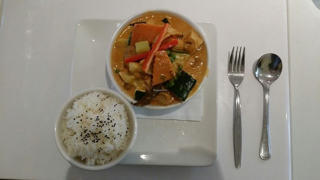 """Photo of Loving Hut  by <a href=""""/members/profile/Mike%20Munsie"""">Mike Munsie</a> <br/>red thai curry <br/> May 5, 2017  - <a href='/contact/abuse/image/15666/255714'>Report</a>"""