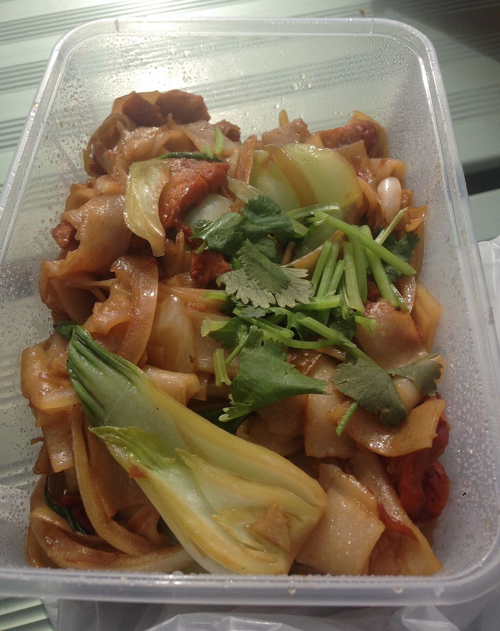 """Photo of Loving Hut  by <a href=""""/members/profile/NirvanaRoseWilliams"""">NirvanaRoseWilliams</a> <br/>Noodle stir fry <br/> June 22, 2017  - <a href='/contact/abuse/image/15666/272228'>Report</a>"""