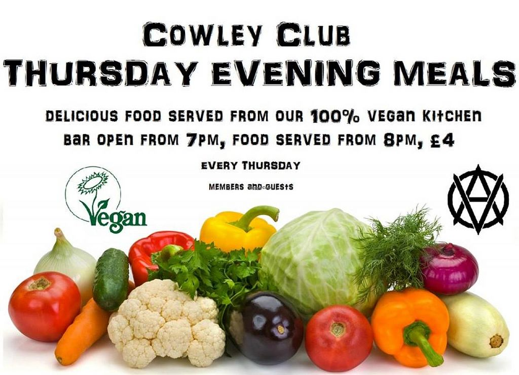 """Photo of The Cowley Club  by <a href=""""/members/profile/poisongrrrl"""">poisongrrrl</a> <br/>Thursday evening meals at the Cowley Club! <br/> June 4, 2015  - <a href='/contact/abuse/image/15683/104765'>Report</a>"""