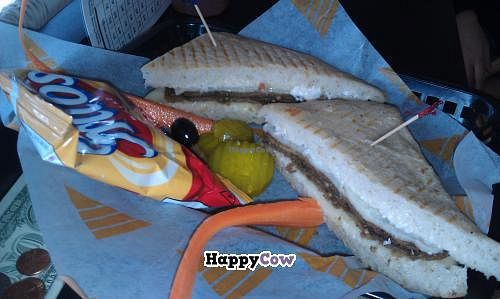 """Photo of Brewhaha  by <a href=""""/members/profile/Stacie99"""">Stacie99</a> <br/>Vegetarian Eggplant Panini  <br/> July 28, 2013  - <a href='/contact/abuse/image/15695/52349'>Report</a>"""