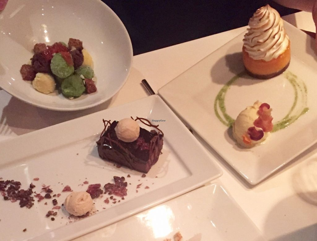"""Photo of Dirt Candy  by <a href=""""/members/profile/Hjveg"""">Hjveg</a> <br/>We ordered all the desserts, including an ice cream salad.  <br/> October 22, 2015  - <a href='/contact/abuse/image/15768/210253'>Report</a>"""