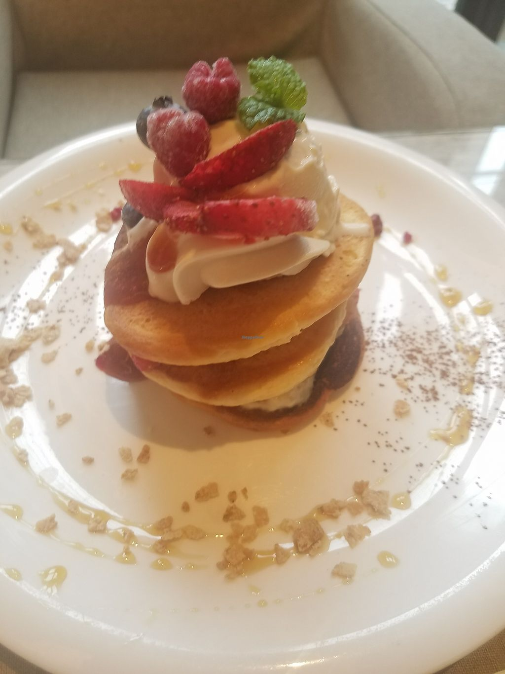 """Photo of Mumokuteki Cafe and Foods  by <a href=""""/members/profile/ReiAmber"""">ReiAmber</a> <br/>pancakes <br/> May 8, 2018  - <a href='/contact/abuse/image/15812/396997'>Report</a>"""