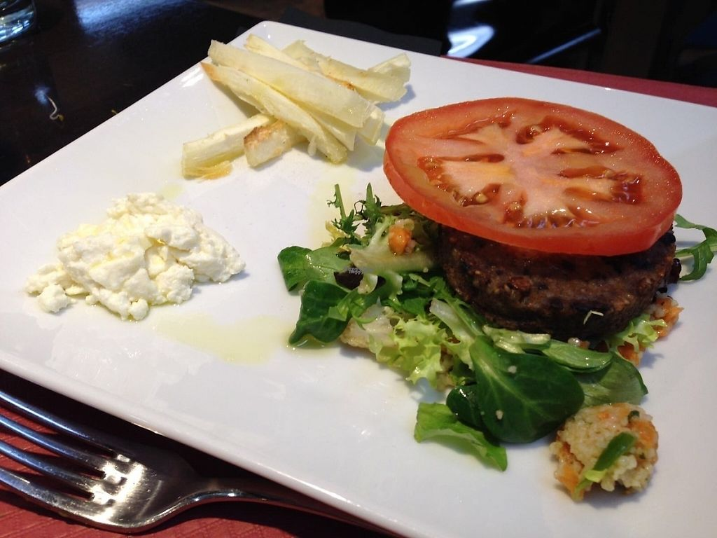 "Photo of B12  by <a href=""/members/profile/Taravegangirl"">Taravegangirl</a> <br/>Think this was a homemade nut and bean burger with yucca fries.. Delicious!!  <br/> January 14, 2017  - <a href='/contact/abuse/image/15834/211991'>Report</a>"